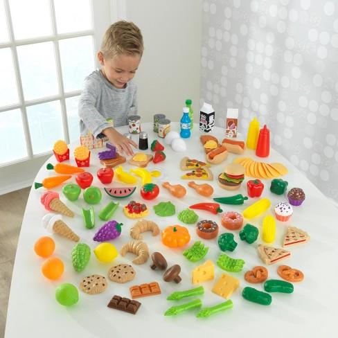 355152bc1f0a4 KidKraft Tasty Treats Play Food Set   Target