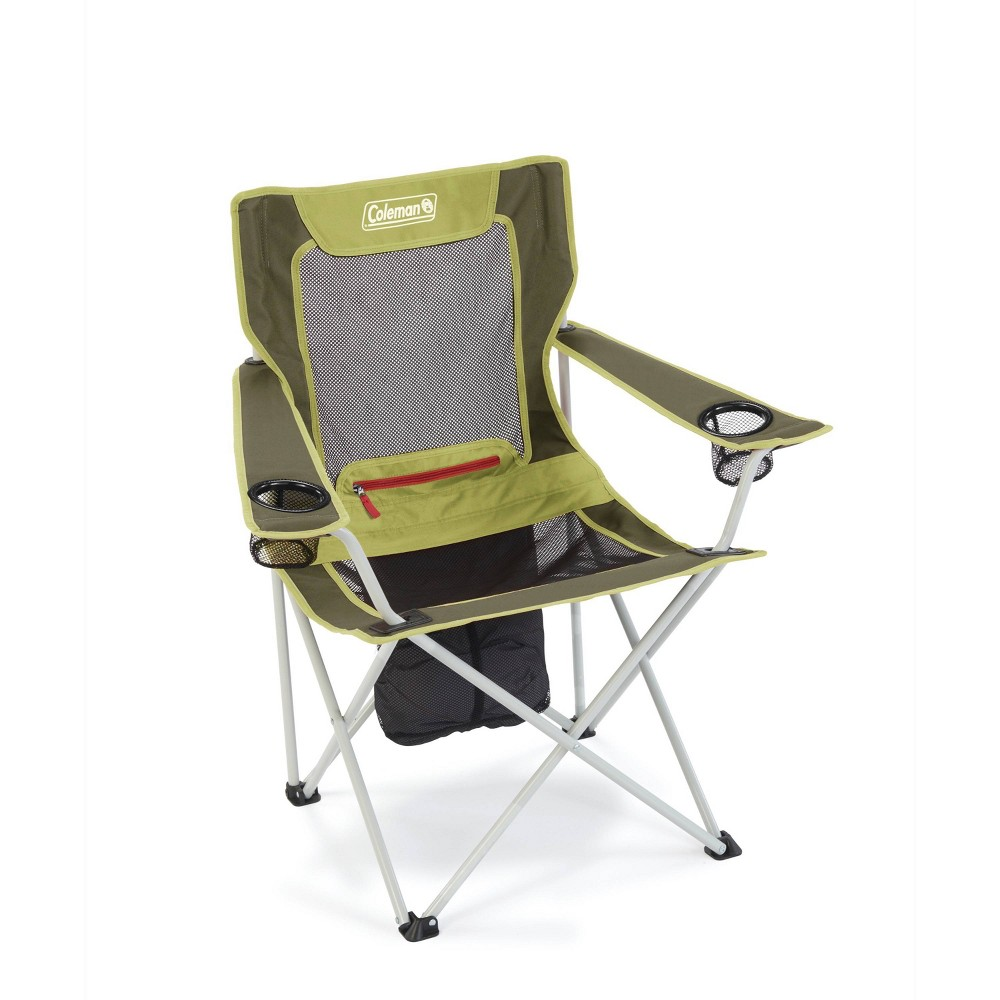 Image of Coleman All-Season Folding Camp Chair - Olive