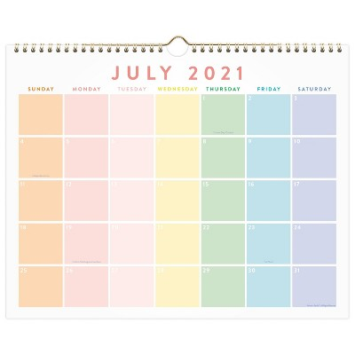 2021-22 Academic Wall Calendar - Atlantic-Pacific for Cambridge