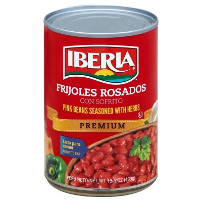 Iberia Pink Beans with Herbs 15.5oz