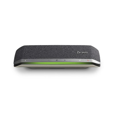 Poly Sync 40 Smart Speakerphone (Plantronics) - Flexible Work Spaces - Connect to PC / Mac via Combined USB-A / USB-C Cable and Smartphones via Bluetooth - Works with Teams, Zoom & more
