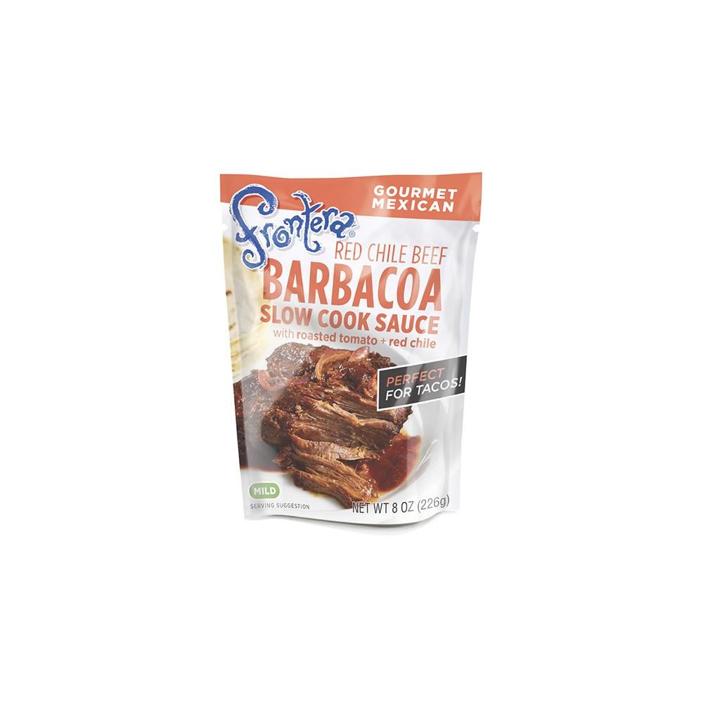 Frontera Red Chile Barbacoa Seasoning Sauce 8 oz
