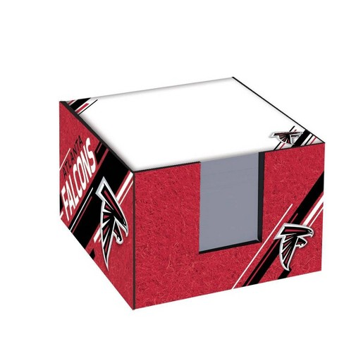 NFL Atlanta Falcons Note Cube with Holder - image 1 of 2