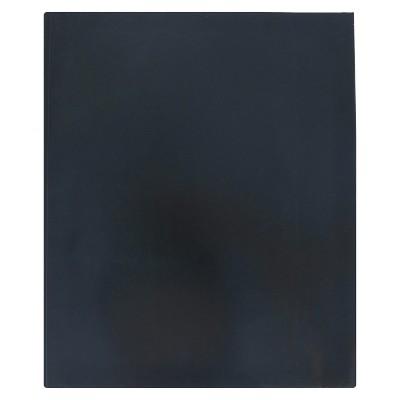 2 Pocket Paper Folder with Prongs Black - Pallex