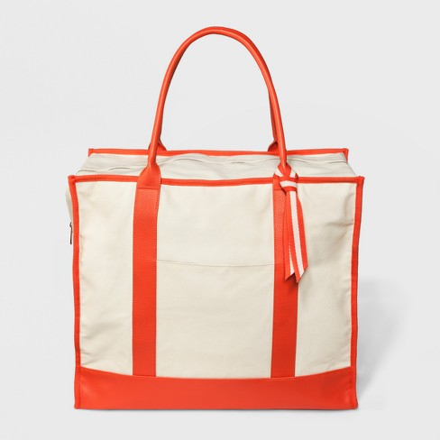 Women's Canvas Weekender Bag - A New Day™ - image 1 of 3