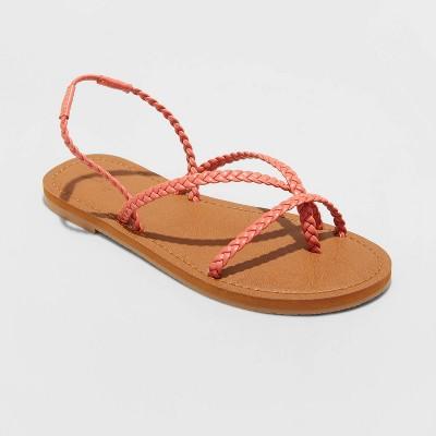 Women's Naomi Strappy Braided Sandals - Universal Thread™