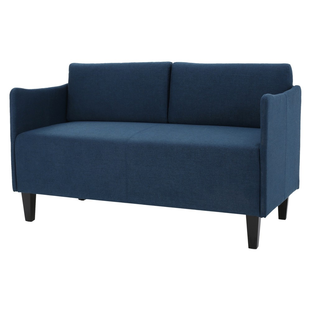 Nyx Loveseat - Dark Blue - Christopher Knight Home