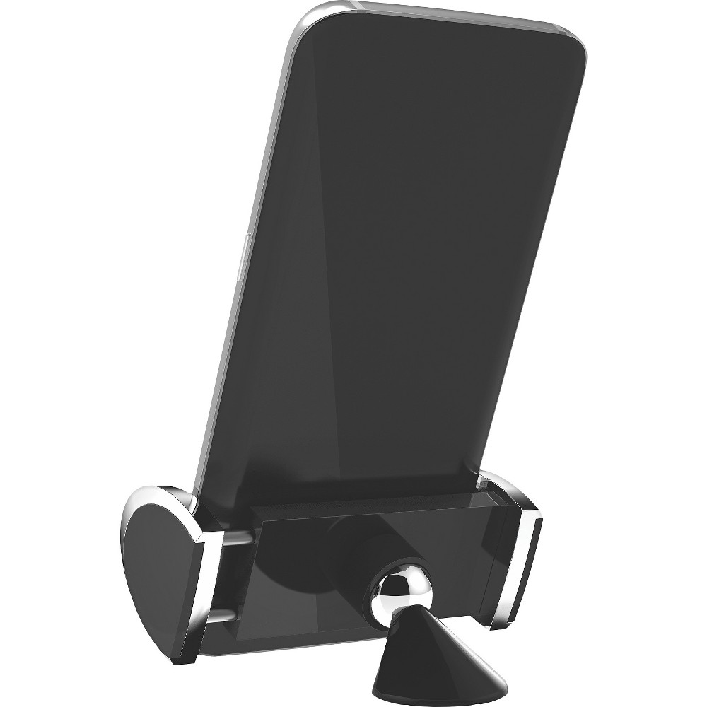 Bracketron Lux Fixed Clamp Mount - Black
