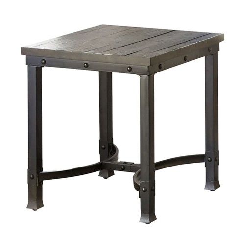 Ambrose End Table Rustic Honey - Steve Silver - image 1 of 4