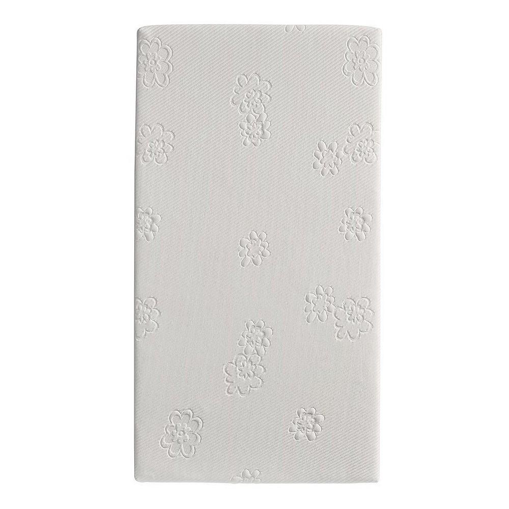 Safety 1st Peaceful Lullabies Crib & Toddler Bed Foam Mattress, White