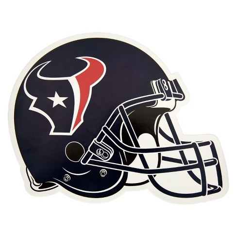 NFL Houston Texans Large Outdoor Helmet Decal - image 1 of 1