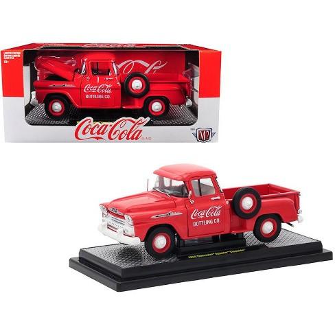 1958 Chevrolet Apache Stepside Pickup Truck Coca Cola Red Ltd Ed