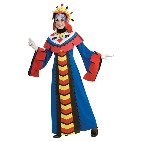 Women's Playing Card Queen Costume - image 1 of 1