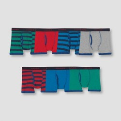 Hanes Boys' 7pk Boxer Briefs - Colors Vary