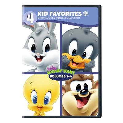 4 Kid Favorites Baby Looney Tunes Dvd Target