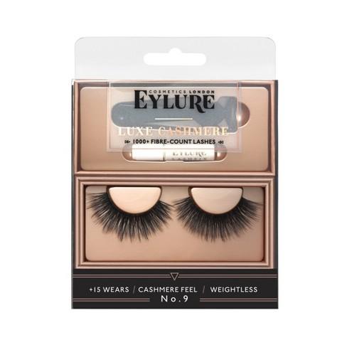 Eylure Luxe False Eyelashes Cashmere No9 - 1pr - image 1 of 4