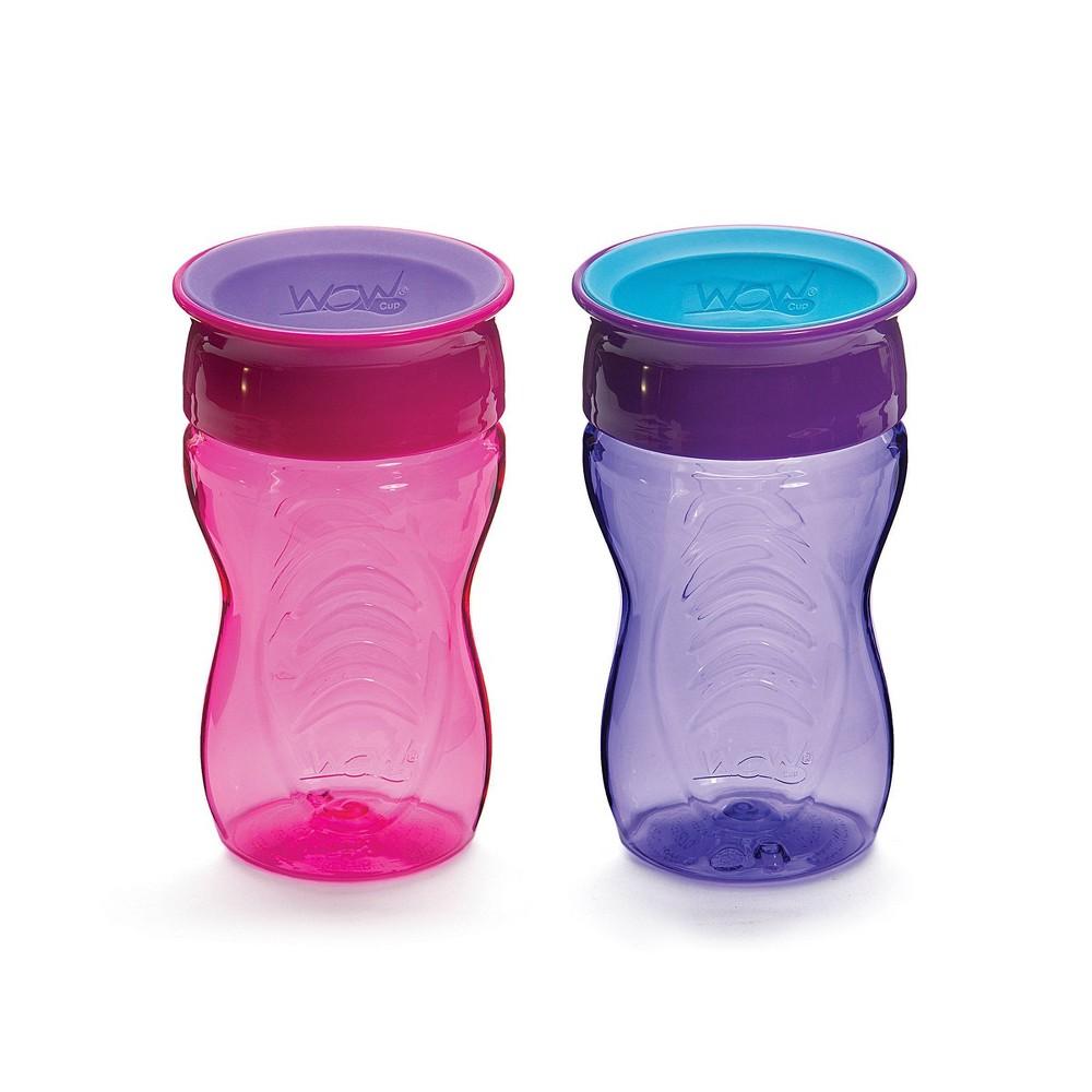 Image of WOW Tritan Kids Cup - Pink/Purple 2pk/20oz