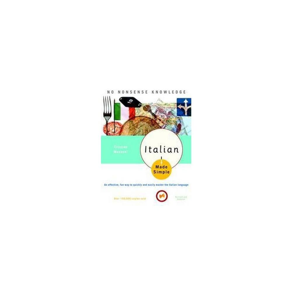 Italian Made Simple (Reprint) (Paperback) (Cristina Mazzoni)