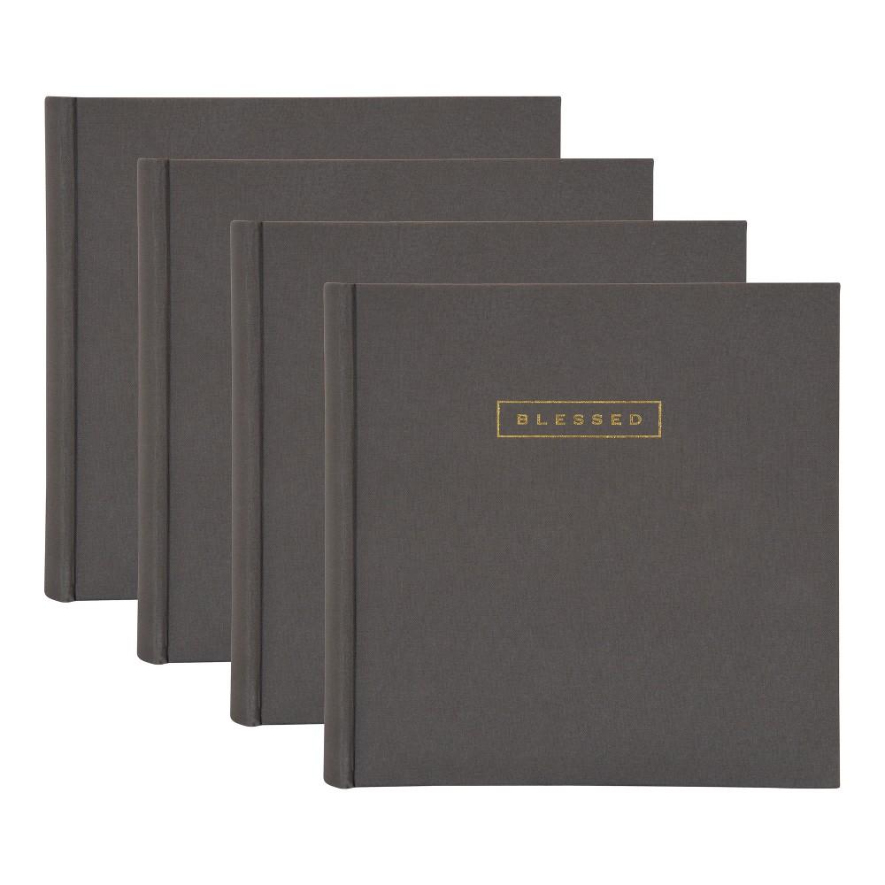 Image of 200 Photos Sentiments Photo Album Set Gray - Designovation