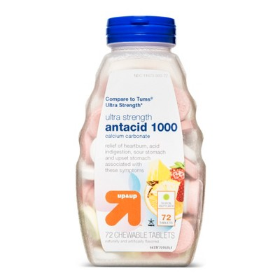 Tropical Fruit Antacid - 72ct - up & up™