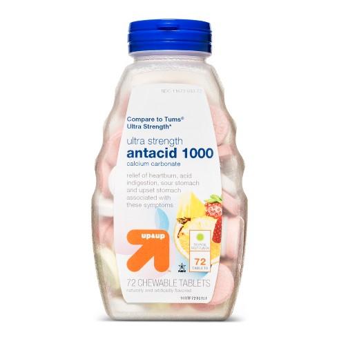 Tropical Fruit Antacid - 72ct - Up&Up™ - image 1 of 1