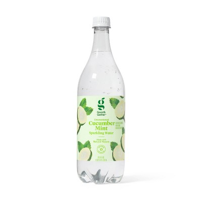Cucumber Mint Sparkling Water - 1L Bottle - Good & Gather™