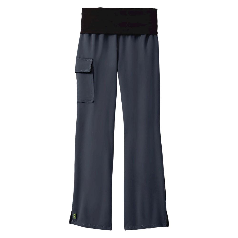 Ocean Ave Yoga Scrub Pants Charcoal Medium, Dark Gray