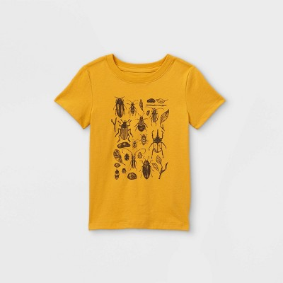 Toddler Boys' Bugs Graphic Short Sleeve T-Shirt - Cat & Jack™ Yellow