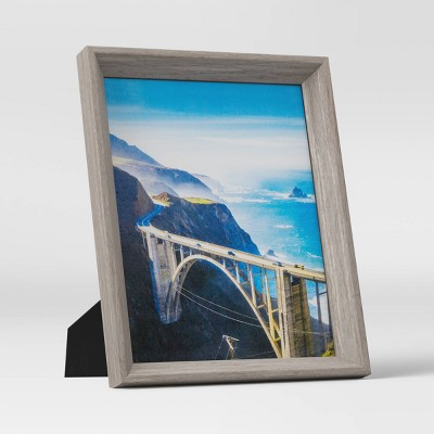 "8"" x 10"" Wedge Picture Frame Gray - Room Essentials™"