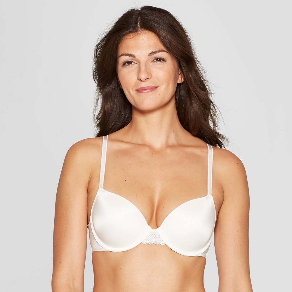 Women's Daydream Light Lift Demi T-Shirt Push Up Bra - Auden Gesso White 34A
