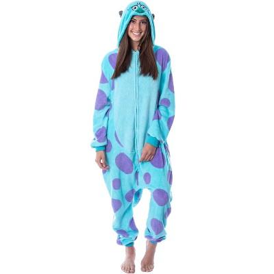Disney Monsters Inc Adult Sulley Kigurumi Costume Union Suit Pajama