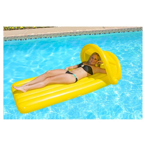 Poolmaster Canopy Mattress - Yellow - image 1 of 3