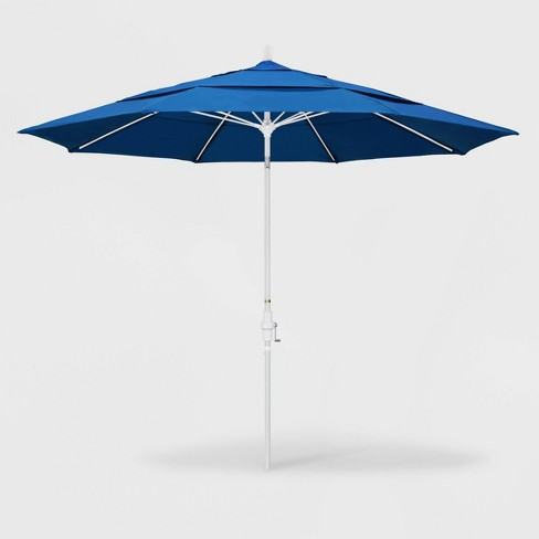 11' Sun Master Patio Umbrella Collar Tilt Crank Lift – California Umbrella - image 1 of 1