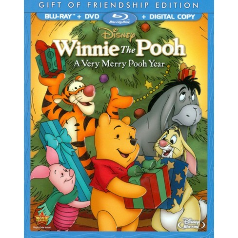 Winnie the Pooh: A Very Merry Pooh Year (2 Discs) (Includes Digital Copy) (Blu-ray/DVD) - image 1 of 1