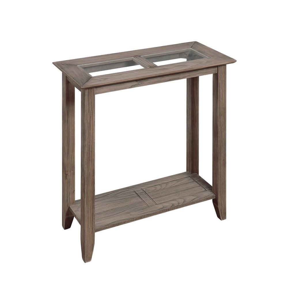 Carmel Hall Table Driftwood  - Johar Furniture Carmel Hall Table Driftwood Brown - Johar Furniture