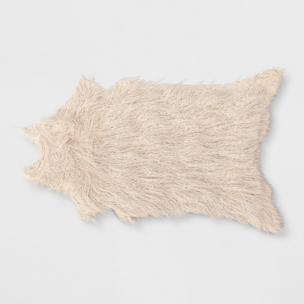 Mongolian Faux Fur Rug Ivory - Project 62 was $49.99 now $24.99 (50.0% off)