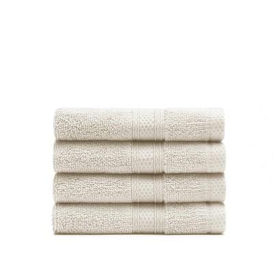 Plush Towels (Lynova) Wash Cloth - Set of 4 - Standard Textile Home