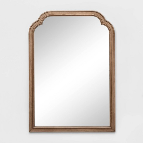 42 X 30 French Country Wall Mirror Brown Threshold Target