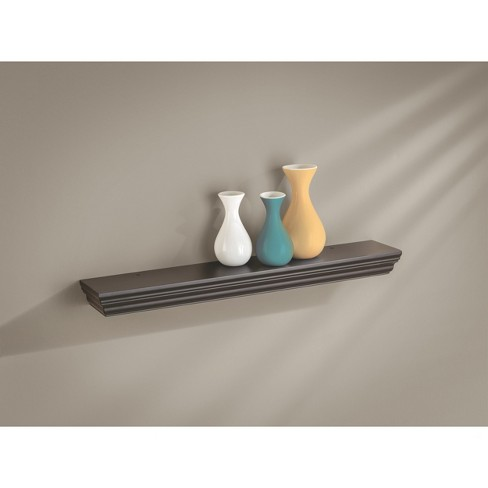 "24"" x 4"" x 1.75"" Profile Ledge Wall Shelf Espresso - Dolle Shelving - image 1 of 3"