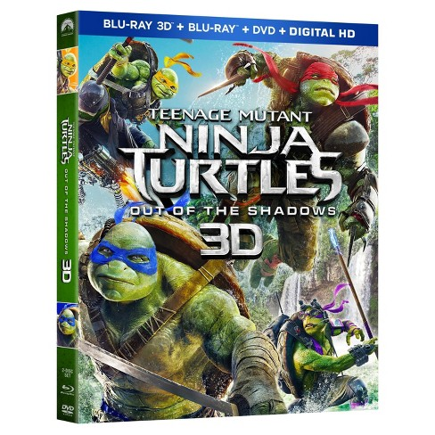 Teenage Mutant Ninja Turtles: Out of the Shadows (3D/Blu-ray/DVD + Digital) - image 1 of 1