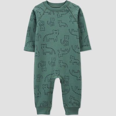 Baby Boys' Tiger Jumpsuit - Just One You® made by carter's Green 3M