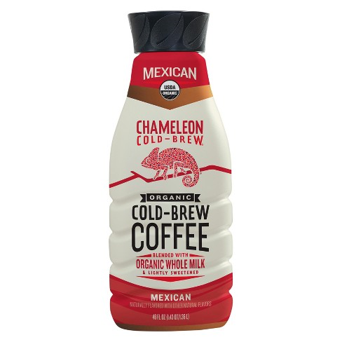 Chameleon Cold Brew Mexican Coffee with Whole Milk - 46 fl oz - image 1 of 1