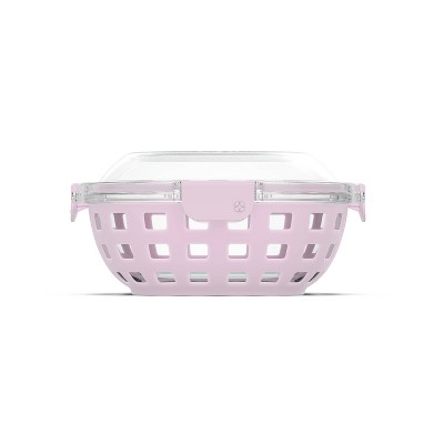 Ello 5.5 Cup Glass Lunch Bowl - Pink