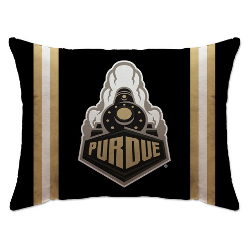 """NCAA Purdue Boilermakers 20""""x26"""" Standard Logo Bed Pillow - image 1 of 1"""