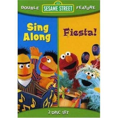 Sesame Street Fiesta / Sing Along (DVD)(2008)