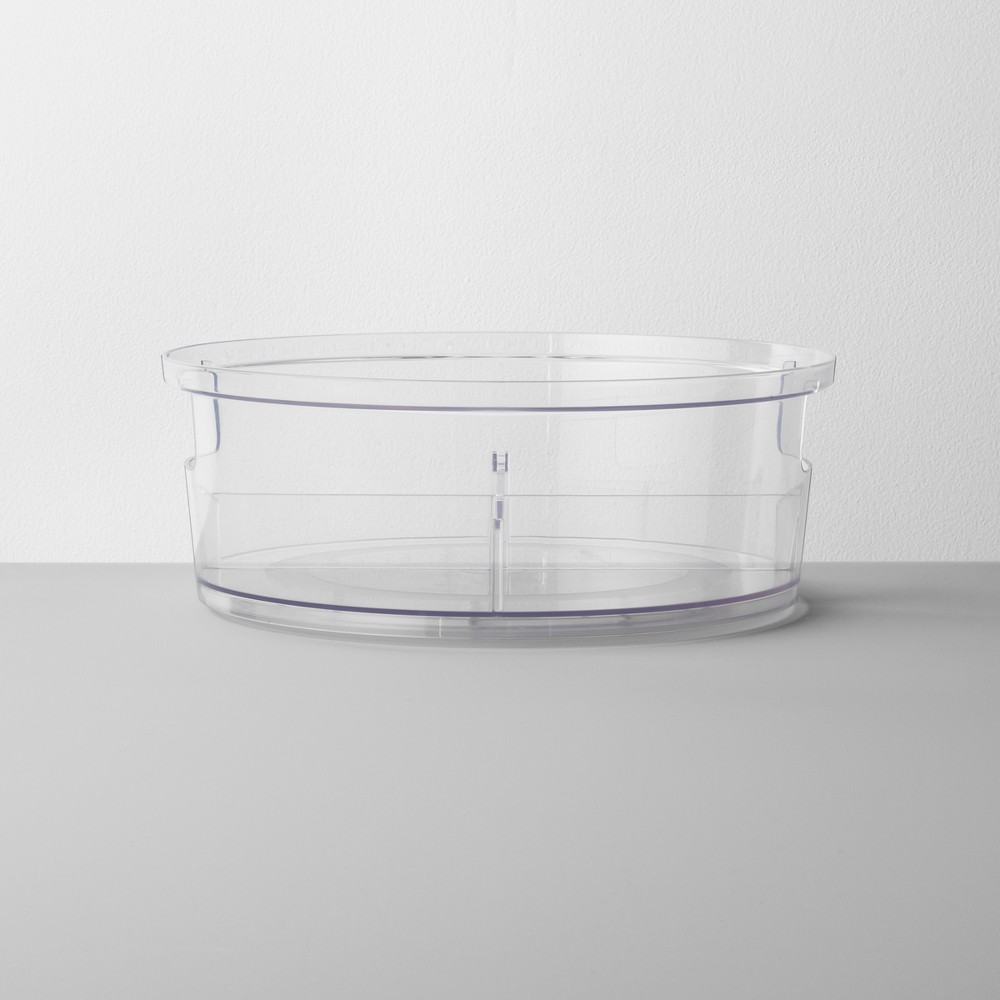 Plastic Turn Table 11 - Made By Design, Clear
