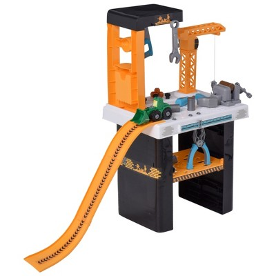 Qaba 54 Piece Tool Workshop Kids Tool Set Workbench and Construction Toy for Ages 3+
