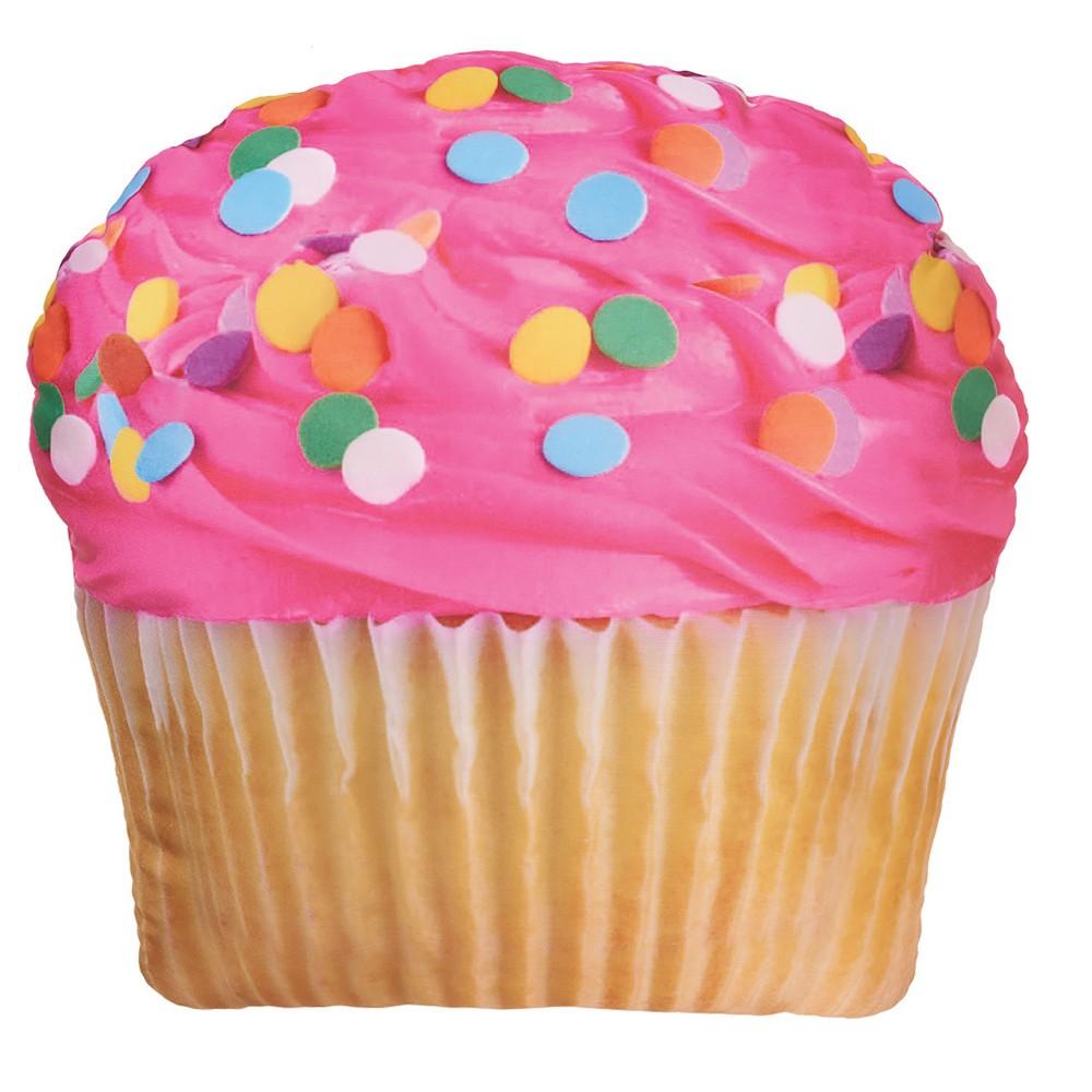 Image of Pink-Icing Cupcake Microbead Pillow