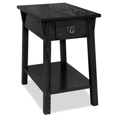 Favorite Finds Mission Chairside Table Slate Finish - Leick Furniture - image 1 of 8
