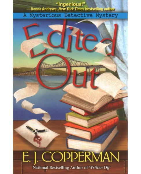 Edited Out -  Reprint (Mysterious Detective Mystery) by E. J. Copperman (Paperback) - image 1 of 1